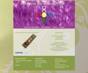 Webdesign für Andrea Schaal