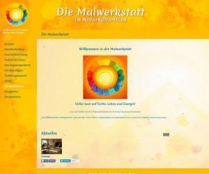Webdesign für die Malwerkstatt
