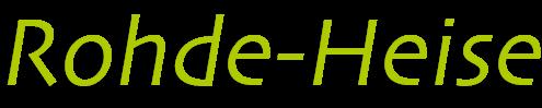 Rohde-Heise Webdesign aus  Solingen