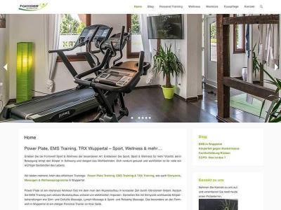 Webdesign für Formwelt Wuppertal