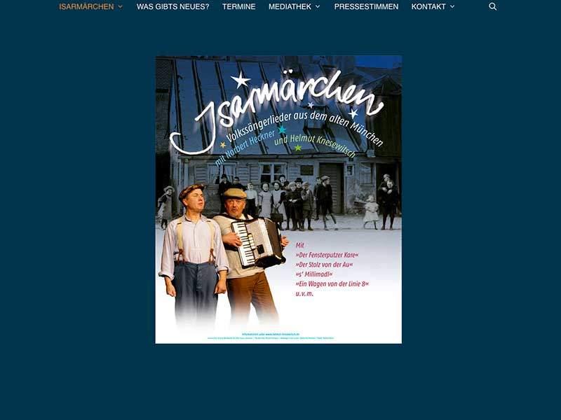 Webdesign für Isarmärchen
