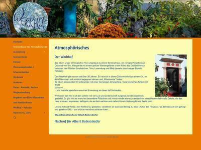 Webdesign für Der Werkhof