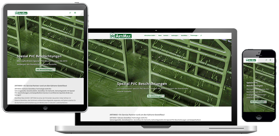 ARTIMAX website