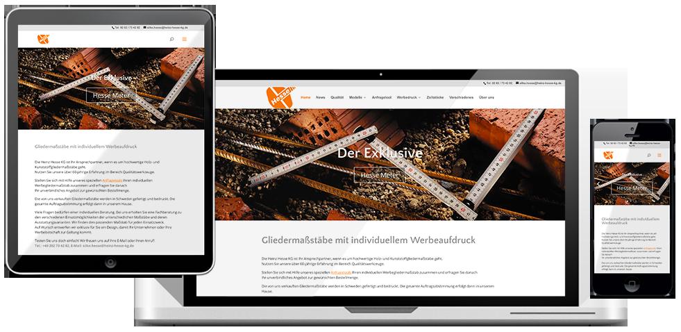 gliedermasstaebe website