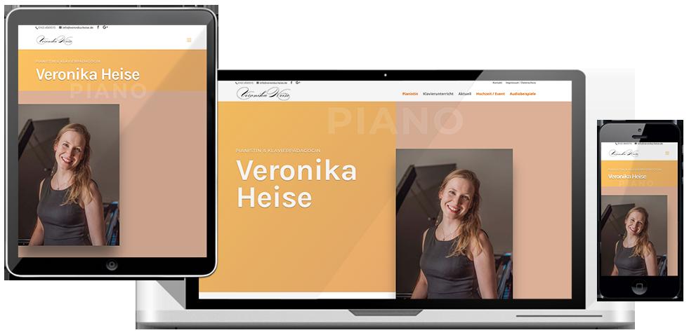 veronika-heise website