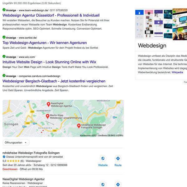 webdesign-suche