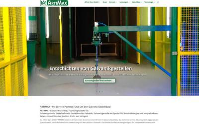 Artimax galvano Gestellbau Technologie Solingen